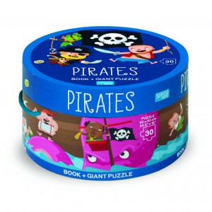PIRATES - ROUND BOX