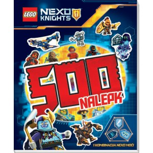 LEGO-NEXO KNIGHTS - 500 nalepk